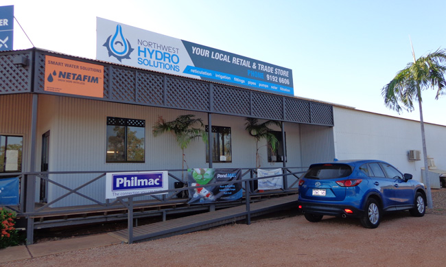 northwest hydro solutions store outside