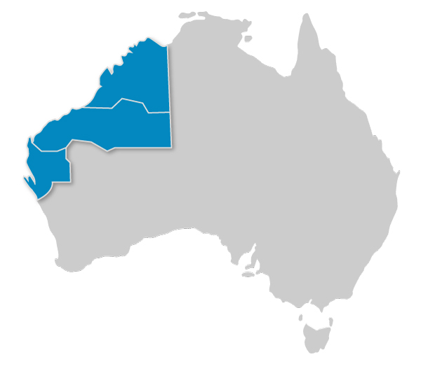 Water Management pilbara australia map