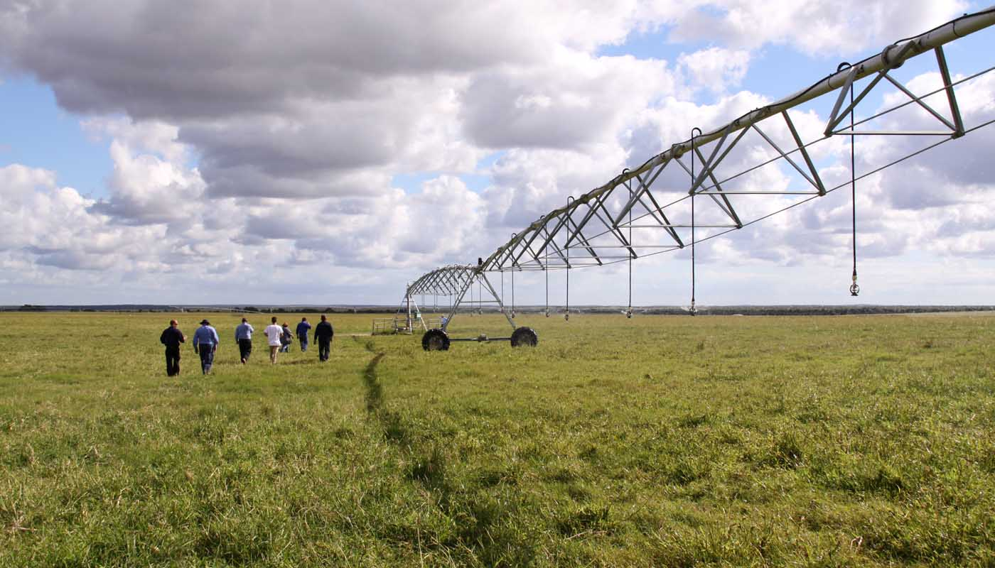 Solar Pumps for Centre Pivot Irrigation - Eneabba Field Day
