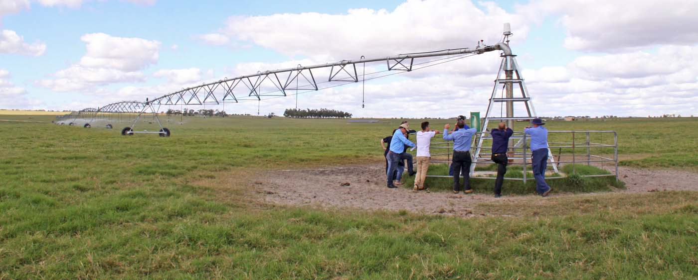 Solar Pumping Centre Pivot Field Day Eneabba