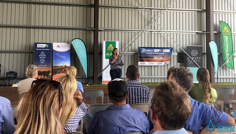 Catherine Marriot Welcomes Everyone To the KPCA Field Day at Minderoo
